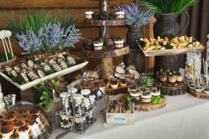 food to serve at a wedding